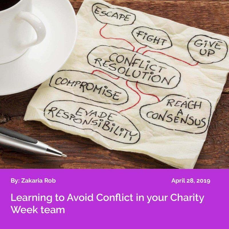CW2019 Avoid Conflict
