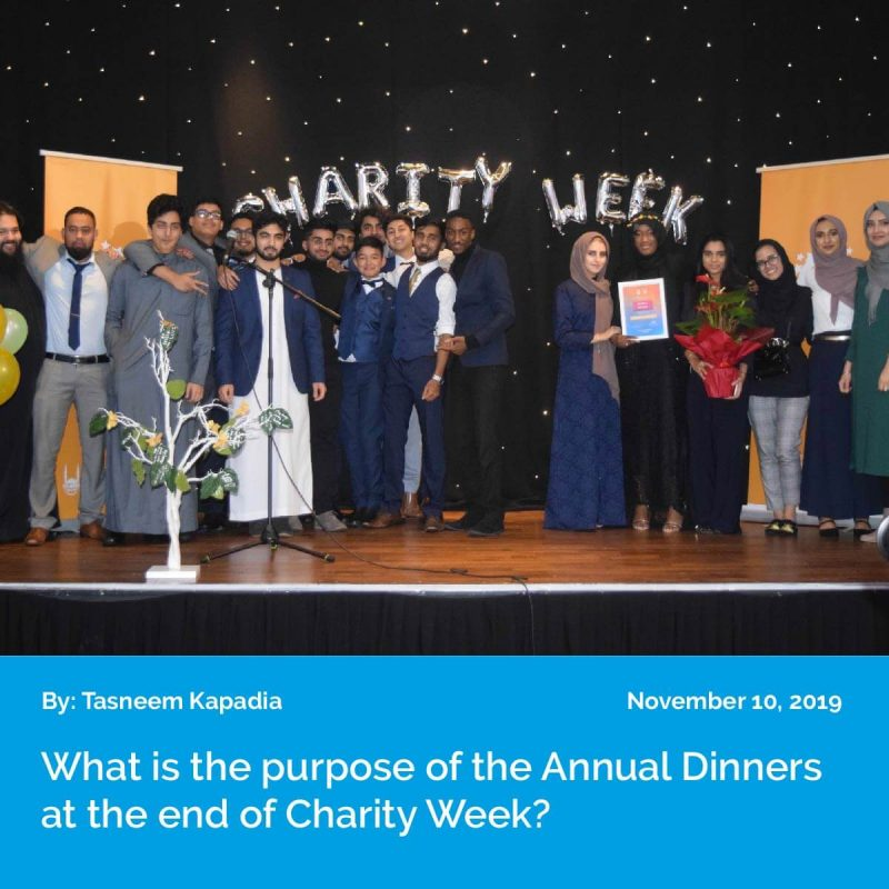 CW2019 Purpose of Annual Dinners